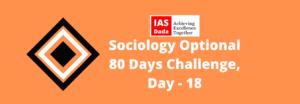 IAS Dada Sociology Optional Day-18