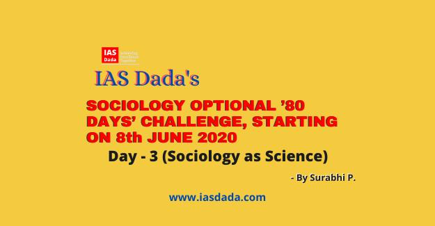 IAS dada Sociology optional day 3